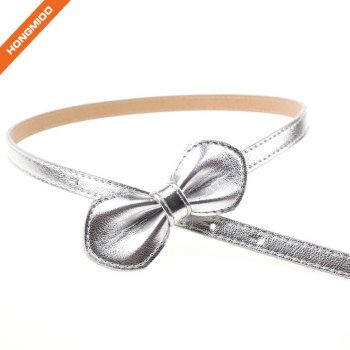 Silver Butterfly Vintage Stretch Girl Skinny Waist Belts