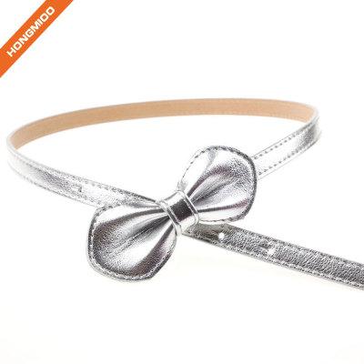 Silver Butterfly Vintage Stretch Girl Skinny Waist Belts