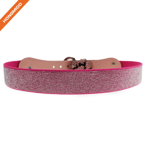 Cheap Kid Elastic Snack Textured Belt For Girls