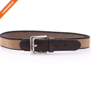 High Quality Fashion Kids Belt Elastic Boy Waistband