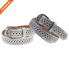 European And American Children's Fashion Environmental Pu Leather Belt