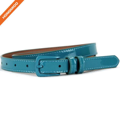 Factory Making Hard Blue Boy Belt With Pin Buckle