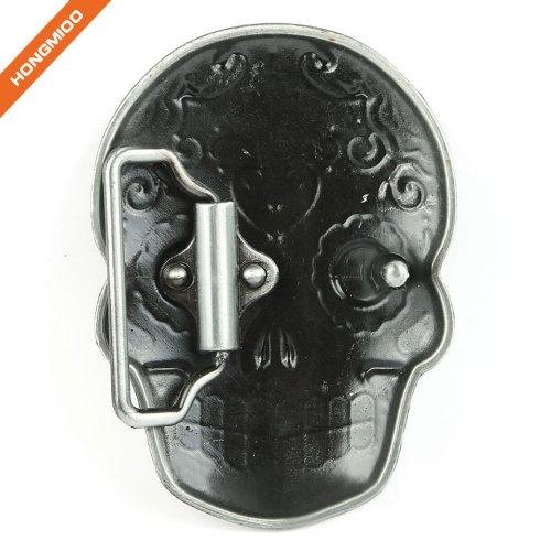 Ghost Skeleton Skull Western Buckles