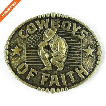 Texas Cowboys of Faith Western Buckles