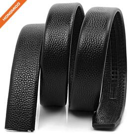 Top Grain Leather Vintage Ratchet Belt Strap For Dress