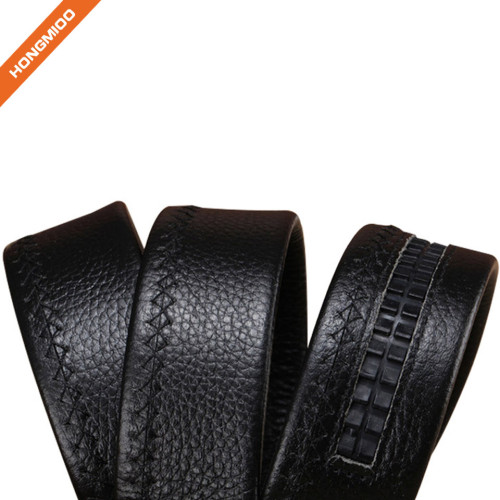 Top Grain Leather Vintage Ratchet Belt Strap For Dress