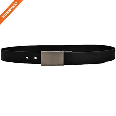 Outdoor Durable Easy Wash Pin Buckle Silicone Belt for Men