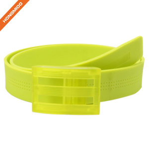 Plastic Soft Touch Multiple Color Silicone Belt