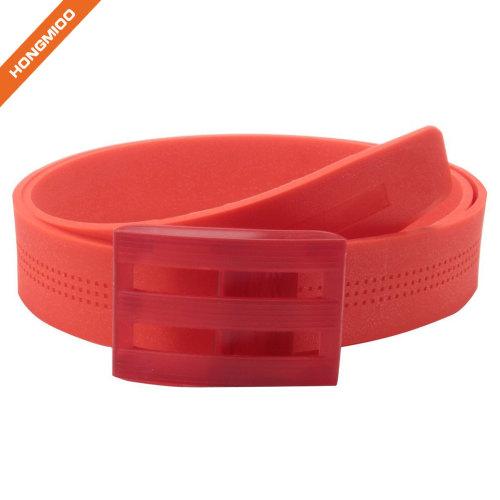 Plastic Soft Touch Multiple Color Silicone Belt Golf Belt