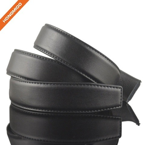 1.38 Inches Real Second Layer Cow Leather Mens Adjustable Belts Strap