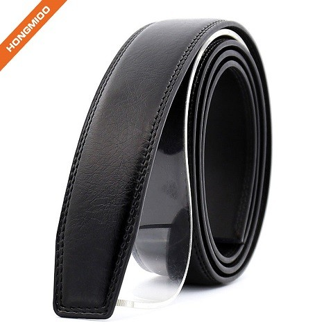 Men's Leather Ratchet Belt Strap Multiple Colour Without Buckle 35mm 1.38 inches Wide