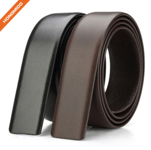 Factory Wholesale Full Grain Leather Men Jean Belt Strap