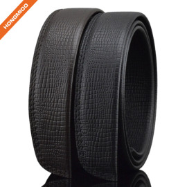 Custom Logo Mens Pure Cowhide Leather Automatic Belt Straps