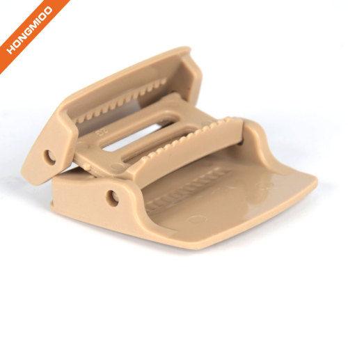 Environmental Protection Various Color Plastic Fabric Ratchet Belt Buckle