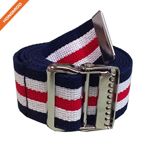 Gait Belt with Nickel Buckle Cotton Walking Belt For Hospital Patient