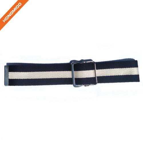 First Aid Walking Gait Belt Patient Transfer With Wide Metal Buckle Blue Belt