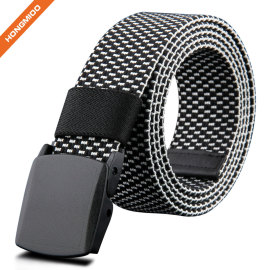 Men's Leisure Metal Free Fabric Canvas Belt