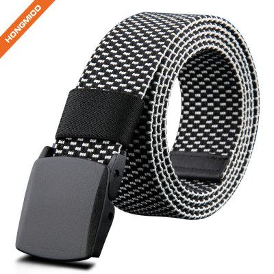 Men's Leisure Metal Free Fabric Canvas Belt