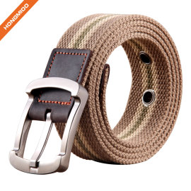 Comfortable Strap Men's Canvas Belt