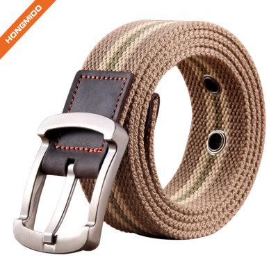 Comfortable Strap Men's Canvas Belt
