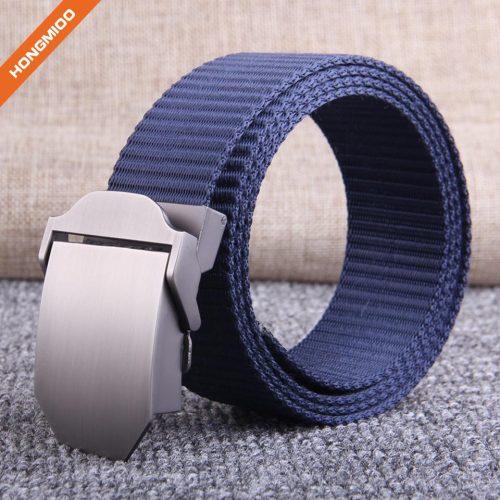 Multiple Color Men's Canvas Belt