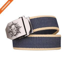 Men's Fashion Accessories Cotton Canvas Belt
