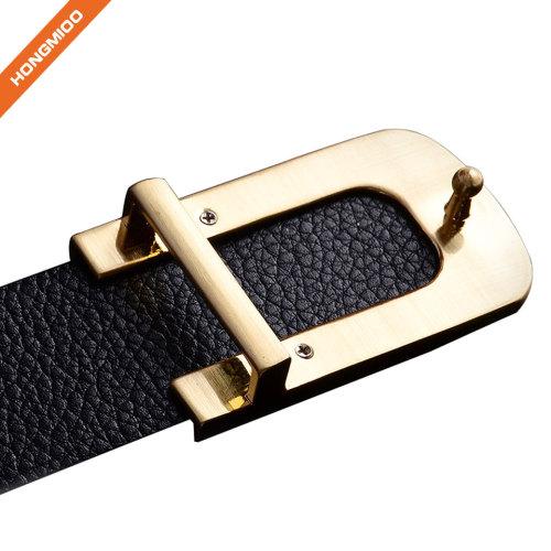 Hongmioo Oil Tanned Top Grain Genuine Vintage Retro Western Cowhide Leather Belt