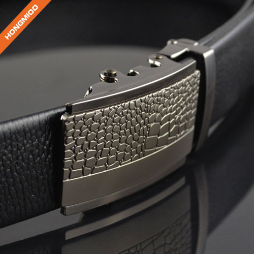 No Holes Automatic Buckle Business Casual Jeans Belt