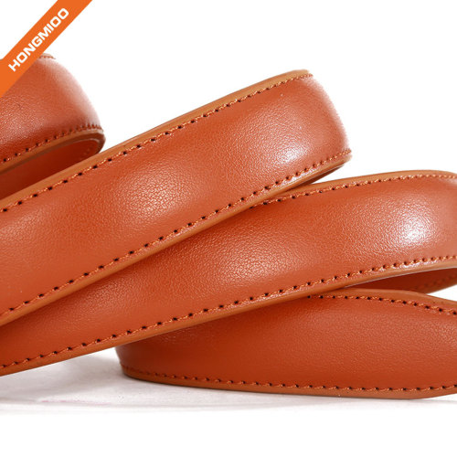 Split Leather Skinny Women Belt Thin Waist Belts for Dresses Up to 33