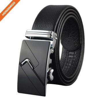 Hongmioo Fashion Bulliant Slide Ratchet Dress Belt For Men