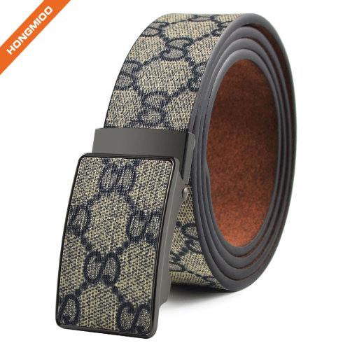 Fashion Accessory Snake Pattern Embossed PU Leather Belt Double Use Unisex
