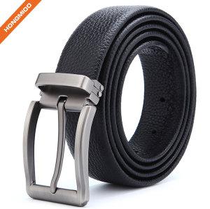 Wholesale Formal Reversible Buckle Jeans Belt Men