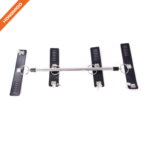 Steel Pipe Restraint Handcuffs G-Spot Set Sexy Tools Night Bed Accessory