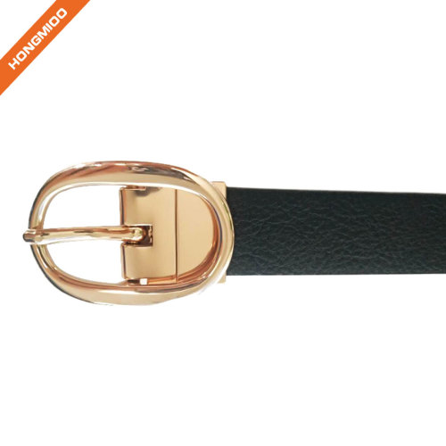 New Product Unisex Pu Leather Reversible Pin Buckle Belt