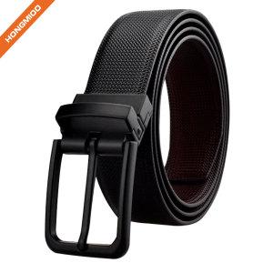 Custom Anti-nickle Reversible Buckle Men Edged Belt