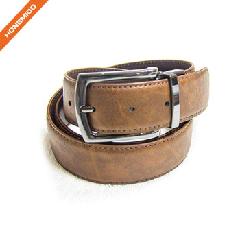 Double Colour Men Business Custom Reversible Belt Factory