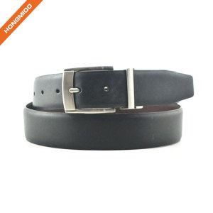 New Product Fashion Alloy Reversible Pin Buckle Belt