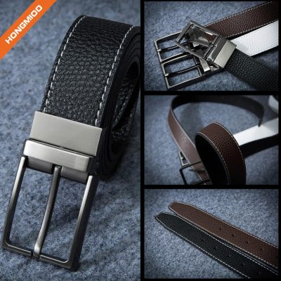 Multifunctional PU Leather Jeans Belt Custom Logo For Young