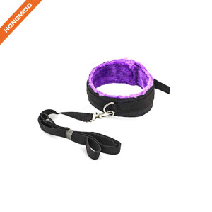 Premium Faux Leather Lockable Neck Collar and Leash