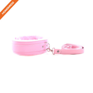High quality wholesale sex toy PU leather SM set adjustable neck collar
