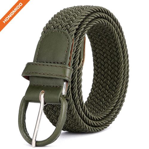 Canvas Web Belt Military Style Soft Wear Sports Leisure Webbing Belt