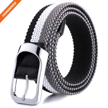 Nickel Free Eco-Friendly Adjustable Nylon Webbing Waist Belt