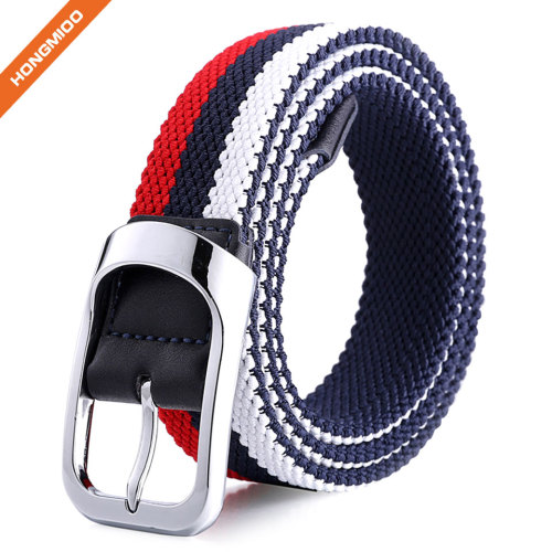 Nickel Free Eco-Friendly Adjustable Nylon Webbing Waist Belt