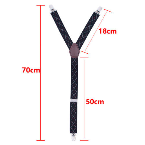 Anti-Wrinkle Non Slip Clip Elastic Shirt Stays Garters Adjustable Thigh Shirt Tuck Suspenders