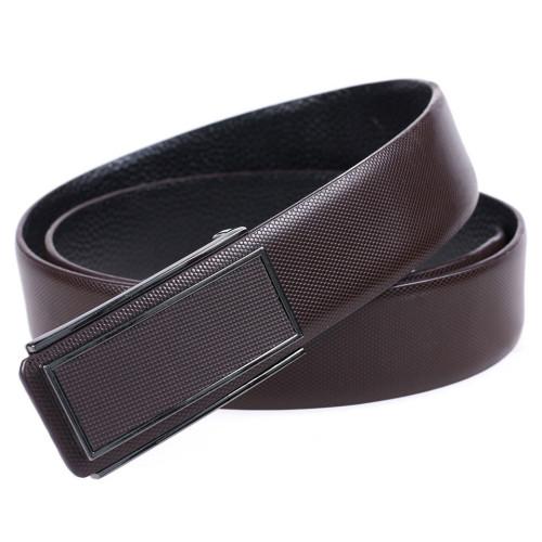 Business Belt With Metal Buckle Men Leisure Top Leather Belt