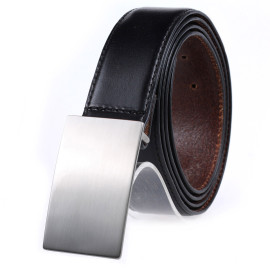 Men's Slide Buckle Belt  Pure Leather Business Casual Belt