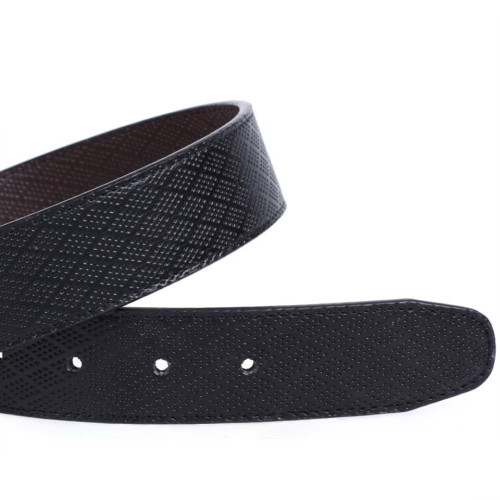 Fashion Zink Alloy Plate Buckle Belt Genuine Leather Belt For Men