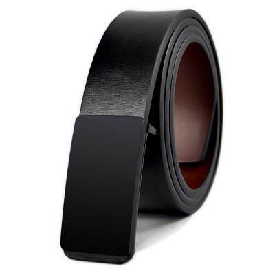 Pu Belt With Plate Buckle Leisure Belt Men Belt