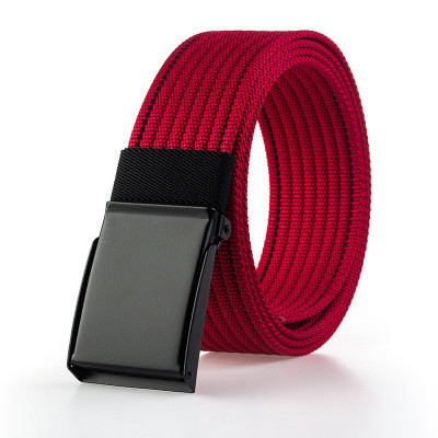 Outdoor Nylon Belt Leisure Belt For Student Fabric Belt