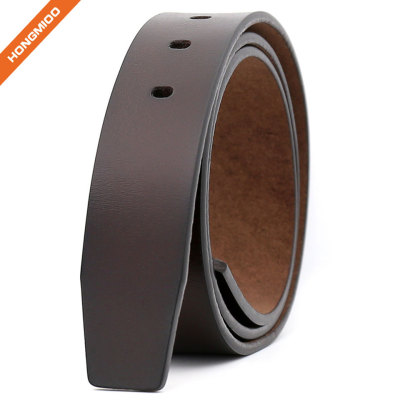 Hongmioo Retro Male Split Leather Waist Belt Strap without Pin Buckle